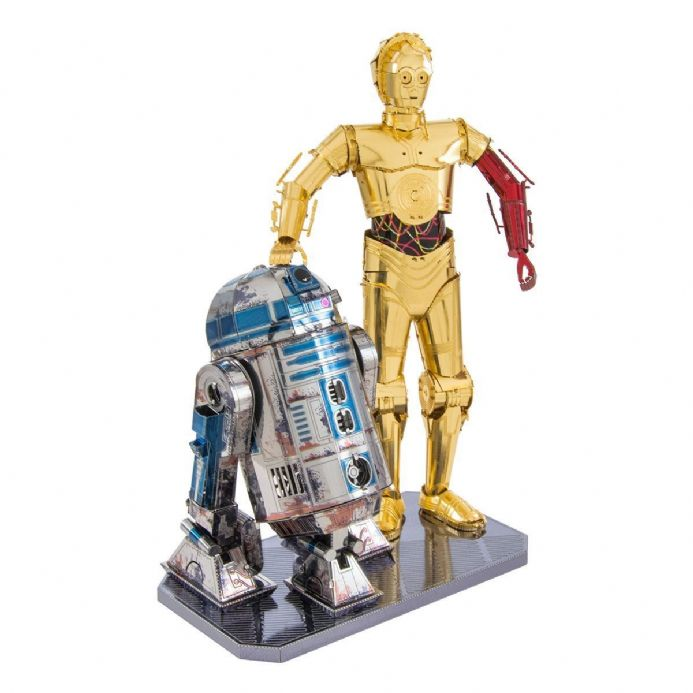 Star Wars Metal Earth C-3Po & R2-D2 Gift Set | Buy now at The G33Kery - UK Stock - Fast Delivery